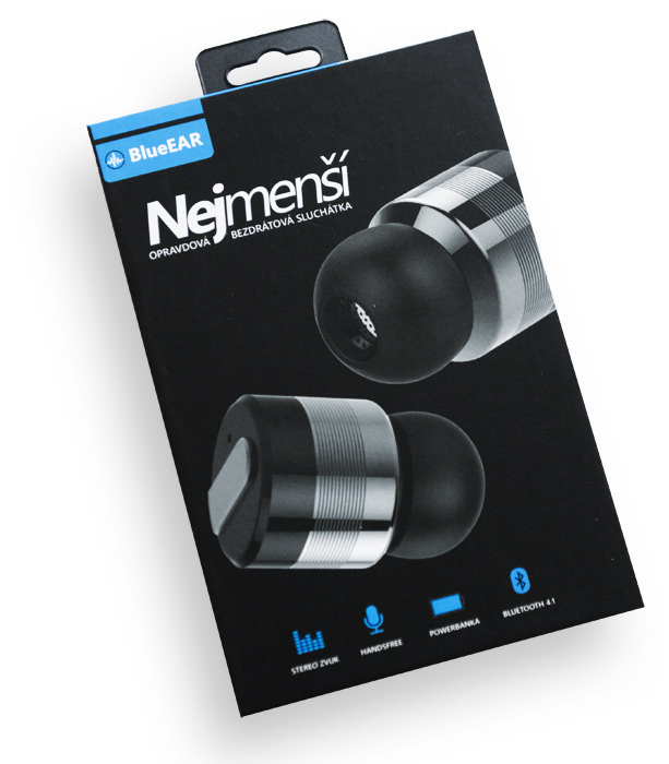 Bezdrátová bluetooth stereo sluchátka, metalicky šedá-5