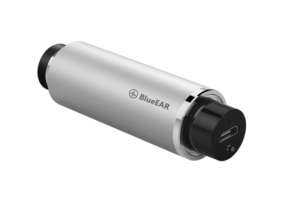 Bezdrátová bluetooth stereo sluchátka, stříbrné-4