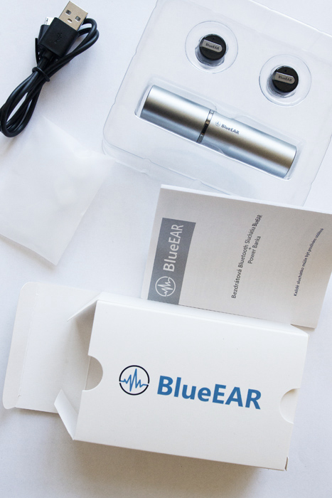 Bezdrátová bluetooth stereo sluchátka, stříbrné-7