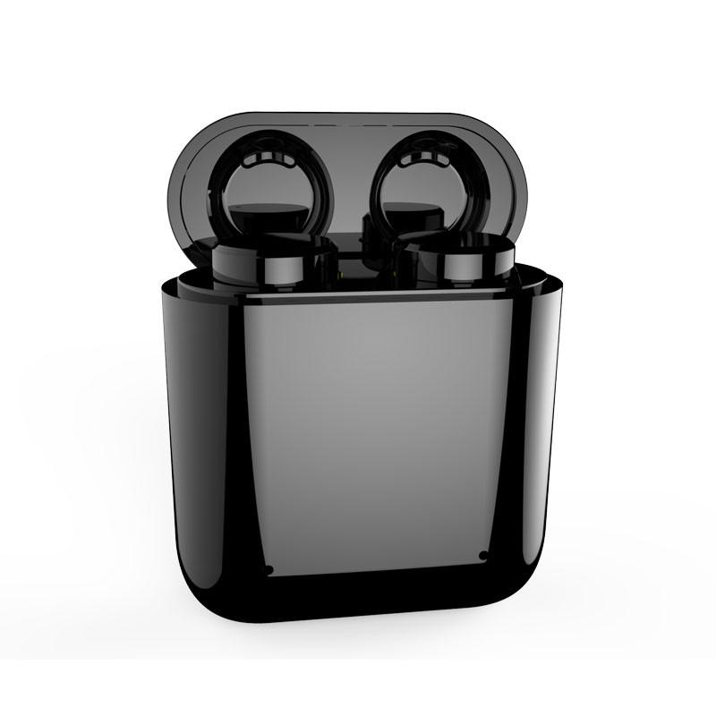 Bezdrátová, dotyková bluetooth5 sluchátka EAR MINI, černá-2