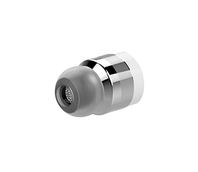 Bezdrátová bluetooth sluchátka s powerbankou, stříbrné-4